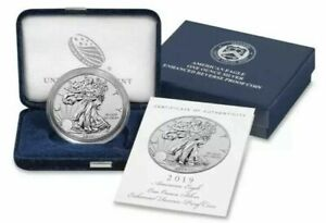 Click now to see the BUY IT NOW Price! 2019 S AMERICAN EAGLE ONE OUNCE SILVER ENHANCED REVERSE PROOF COIN CONFIRMED