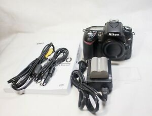 NIKON D D90 12.3MP DIGITAL SLR CAMERA   BLACK  BODY ONLY