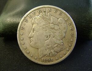 1881 MORGAN DOLLAR SILVER OLD US COIN
