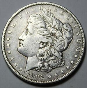 UNITED STATES 1902 P MORGAN SILVER DOLLAR