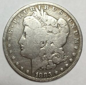 1883 O $1 MORGAN SILVER DOLLAR