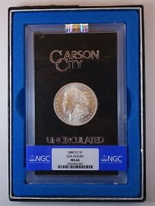 Click now to see the BUY IT NOW Price!  1880 CC MORGAN DOLLAR GSA HOARD NGC MS66 VAM 3A ELITE CLASH 8