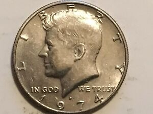 1974 D KENNEDY REVERSE DOUBLING ERROR STATES OF AMERICA DOLLAR & RIGHT WING