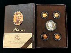 2009 LINCOLN COIN & CHRONICLES SET   UNITED STATES MINT PROOF SET