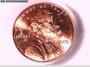2010 D LINCOLN SHIELD CENT PCGS MS 65 RD 16169561 VIDEO