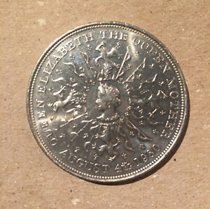 UK GREAT BRITAIN 1980 CROWN QUEEN MOTHER 80TH BIRTHDAY   25 NEW PENCE