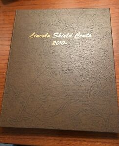 2010 DATE LINCOLN SHIELD CENTS DANSCO ALBUM 7104 WITH COINS