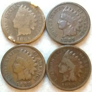 INDIAN HEAD PENNY LOT OF