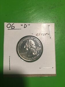 2006 D ERROR   SOUTH DAKOTA QUARTER