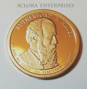 2011 S RUTHERFORD B HAYES PRESIDENTIAL   PROOF  DOLLAR COIN