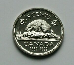 1992 CANADA ELIZABETH II NICKEL COIN   5 CENTS   UNC LUSTRE  FROM MINT SET
