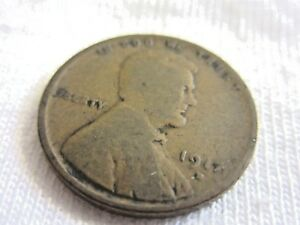 1917 D LINCOLN WHEAT   .ONE CENT            7.8/23