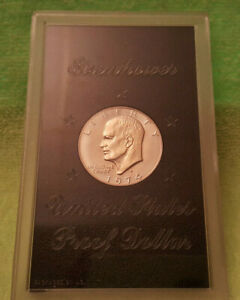 1974 S PROOF IKE   NO BROWN BOX INCLUDED
