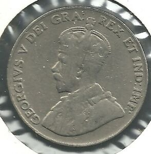 1923 5 CENTS COIN. COIN SEEN IS THE COIN BUYER GETS.