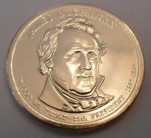 2010 P JAMES BUCHANAN PRESIDENTIAL DOLLAR