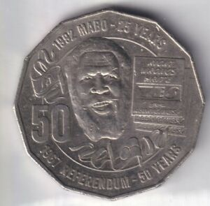 2017 AUSTRALIAN 50 CENT COIN 1967 REFERENDUM/25TH ANNIVERSARY MABO DECISION EF 5