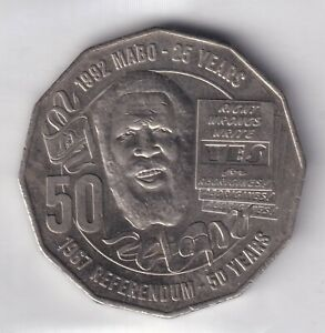 2017 AUSTRALIAN 50 CENT COIN 1967 REFERENDUM/25TH ANNIVERSARY MABO DECISION EF 2