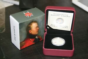 RCM   2012 $4 FINE SILVER COIN HEROES OF 1812   SIR ISAAC BROCK