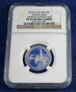 2014 Limited Edition Silver Proof Set /</> NO COINS BOX /& COA ONLY