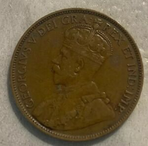 1912 CANADA ONE CENT FOREIGN COIN