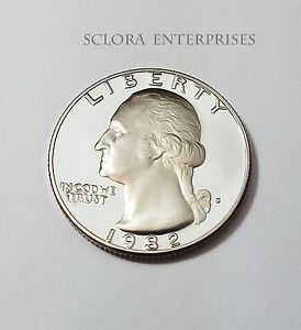 1982 S WASHINGTON  PROOF  QUARTER