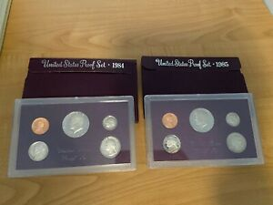 1985 S United States US Clad Proof Set Original Mint Packaging