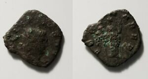 D767 ROMAN BRONZE ANTONINIANUS COIN OF GALLIENUS FROM 260 268 AD