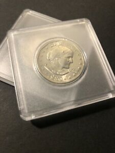 1980 S SUSAN B ANTHONY  SBA  DOLLAR COIN