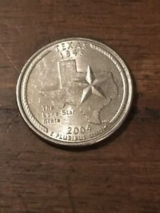 2004 P TEXAS 50 STATES QUARTER   522   BUY 4 GET 20  OFF