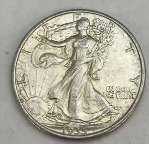 1935 WALKING LIBERTY HALF DOLLAR 50C ABOUT UNCIRCULATED