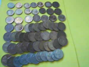 QUALITY JOB LOT 63 COINS OF BULGARIA [ M 562 ] GOOD MIX WELL WORTH CONSIDERATION