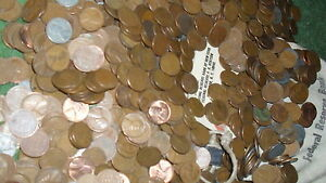 TWO  ROLLS OF WHEAT PENNY'S 1909 TO 1958  A NICE MIX OF TEENS TO 58D