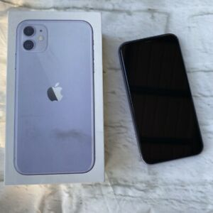 APPLE IPHONE 11  128GB  PURPLE  VERIZON  A2111  CDMA   GSM