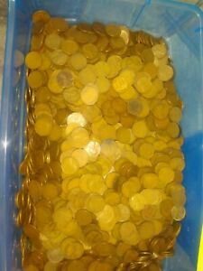 1930 TO 1939 WHEAT PENNIES 35.8 POUNDS PDS MINT MARKS READ BELOW