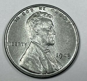 1943 LINCOLN WHEAT CENT BU STEEL CENT