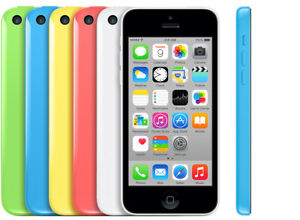 APPLE IPHONE 5C FULLY UNLOCKED 8GB   ALL COLORS