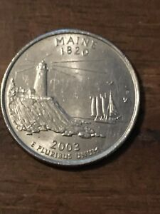 2003 P MAINE STATE QUARTER 601  20  OFF 4  COINS