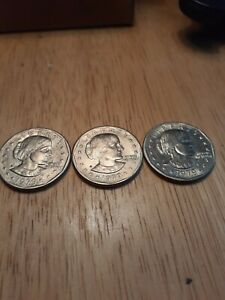 1979 WIDE BRIM SUSAN B ANTHONY DOLLAR $1 DOLLAR US COIN  PRICE PER COIN