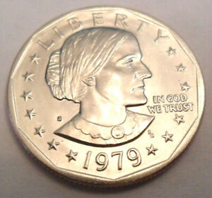 1979 S SUSAN B. ANTHONY  SBA  DOLLAR COIN