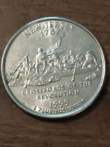 1999 P NEW JERSEY STATE QUARTER  BUY 10 GET 50  OFF  615