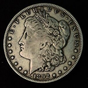 1892 O $1 MORGAN SILVER DOLLAR NEW ORLEANS MINT COIN