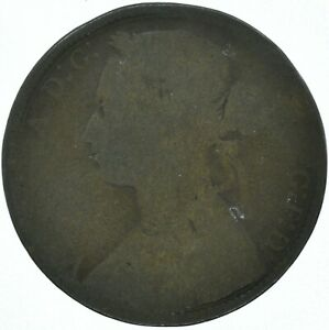 1874 ONE PENNY QUEEN VICTORIA GB UNITED KINGDOM   WT15820