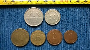 K / GERMANY COINS > WEST GERMANY  FRG   1948 1989