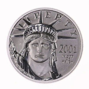 2001 AMERICAN PLATINUM EAGLE $10 ICG CERTIFIED MS70