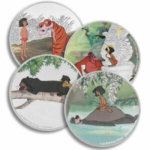 Click now to see the BUY IT NOW Price! 2017 DISNEY JUNGLE BOOK 4 COIN SILVER  SET 4 OZ NIUE