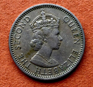 1961 FEDERATION OF NIGERIA UNGRADED ONE SHILLING COIN
