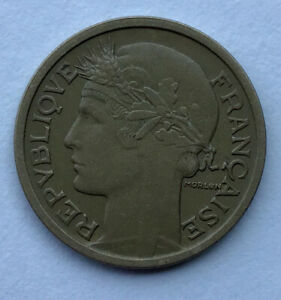 1939 LIBERTE EGALITE FRATERNITE  ESTATE FIND UNGRADED 1 FRANC COIN