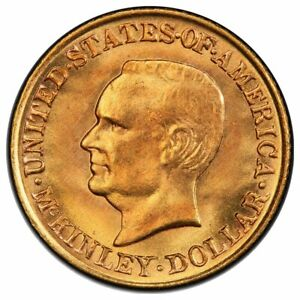 Click now to see the BUY IT NOW Price! 1917 $1 GOLD COMMEMORATIVE DOLLAR MCKINLEY PCGS MS67