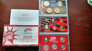 2008 SILVER PROOF COIN SET