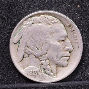 1913 BUFFALO NICKEL   TYPE 1   XF DETAILS  32393